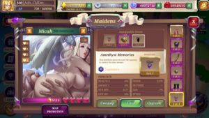 Crystal Maidens - Adult game