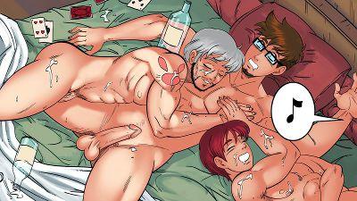 gay harem bara hentai game