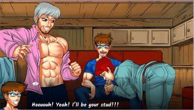 gay harem gay hentai game
