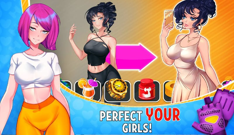 hot gym dating sim android hentai game